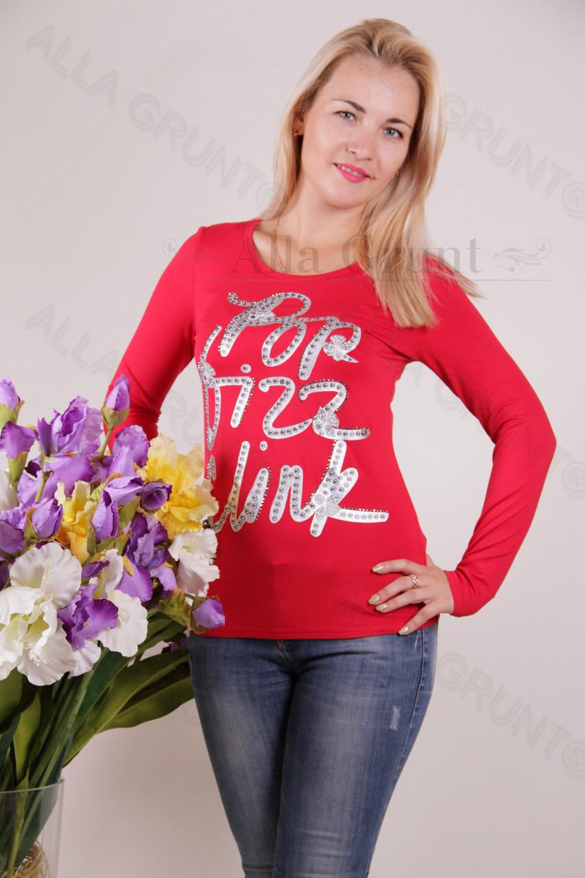 Блуза-туника трикотажная 424-осн700-154 норма оптом от производителя Украина