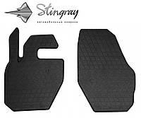 VOLVO XC60 2008- Комплект из 2-х ковриков Черный в салон. Доставка по всей Украине. Оплата при получении