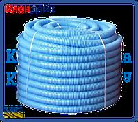 Гофрированная труба пешель 22-26 (синий)