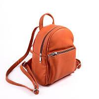 Женский мини рюкзак оранжевый М124-2