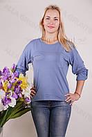 Блуза-туника трикотажная 439-осн822-137 полубатал оптом от производителя Украина