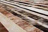 Смугастий килим світло-бежевих відтінків шкіри, фото 2