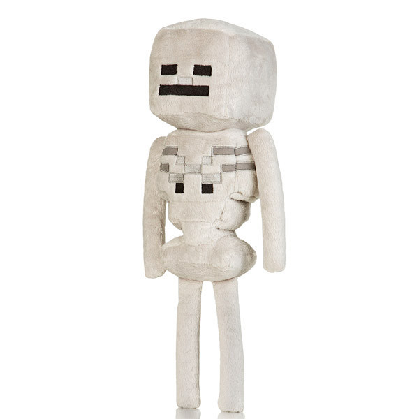 Мягкие игрушки Minecraft - Скелет Лучник 24 см.