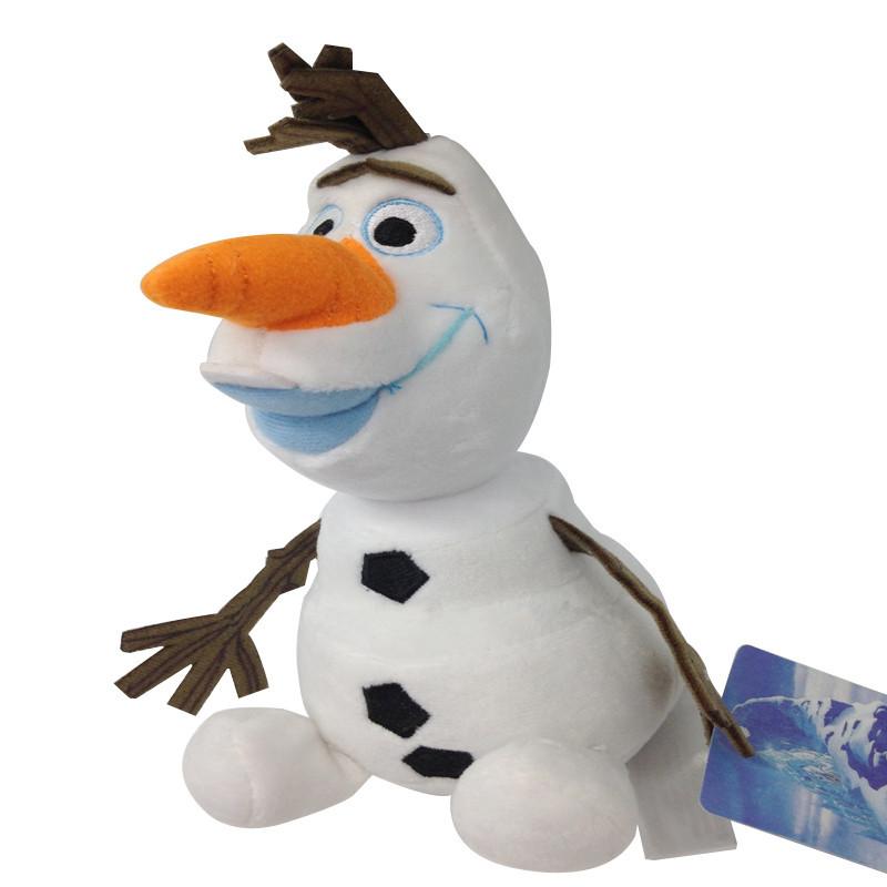 Мягкая плюшевая кукла снеговик Олаф