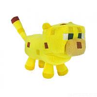 Мягкая игрушка Оцелот из Minecraft  24 см.