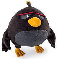 Angry Birds Мягкая игрушка Птица Bomb 20 см