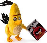 Angry Birds Мягкая игрушка Птица Chuck 20 см, фото 1