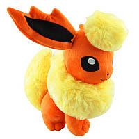 Плюшевый Pokemon Flareon 35 см.