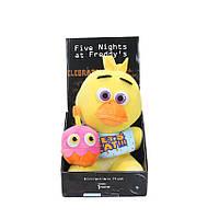 Мягкая игрушка Five Nights at Freddys (Fnaf) - курица Chica 25 см.