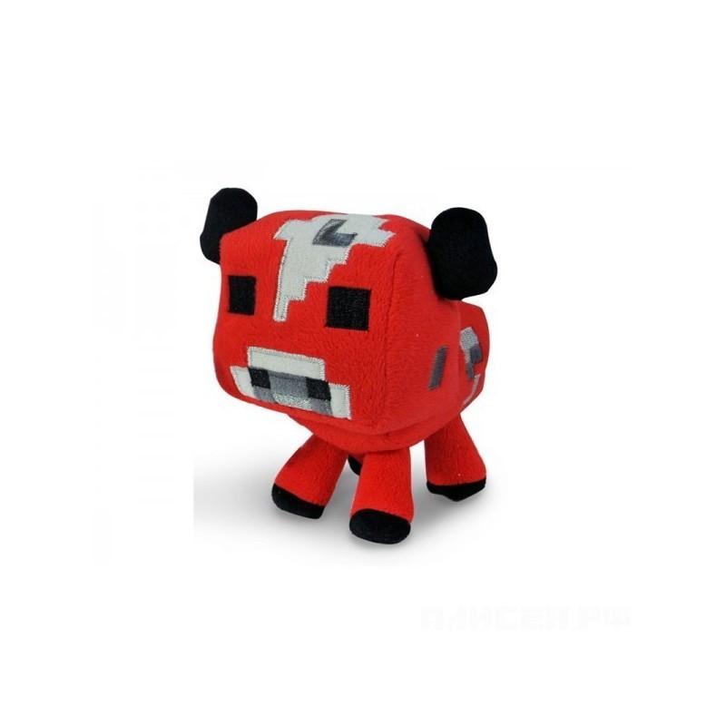 Плюшевый детеныш Грибной коровы Minecraft 18 см.