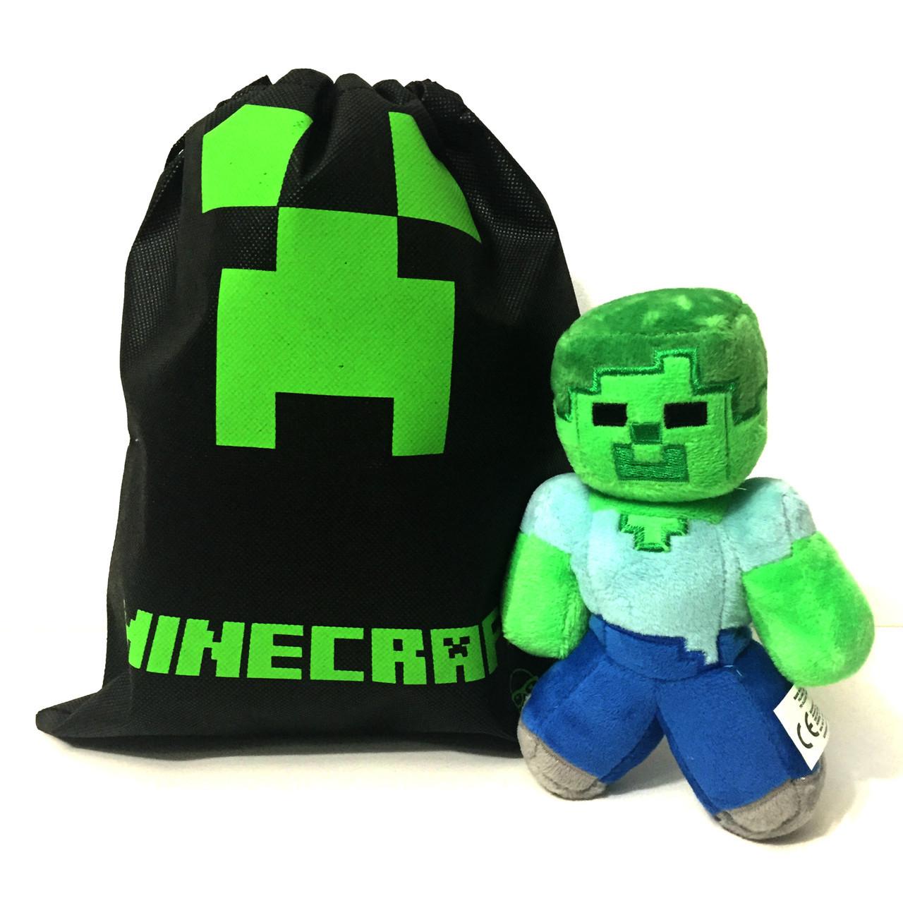 Мягкая игрушка Minecraft Steve 18 см.