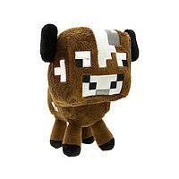 Мягкая игрушка Детеныш коровы из Minecraft  20 см.