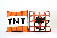 Подушка TNT Minecraft (Майнкрафт) 40*40