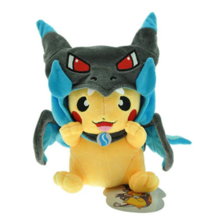 Мягкие плюшевые игрушки Покемон Pikachu 22 см.