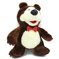 Мягкие плюшевые игрушки Маша и Медведь 22 см.
