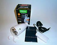 Аккумуляторная лампа-фонарь GD 5007S на солнечной батарее, фото 1