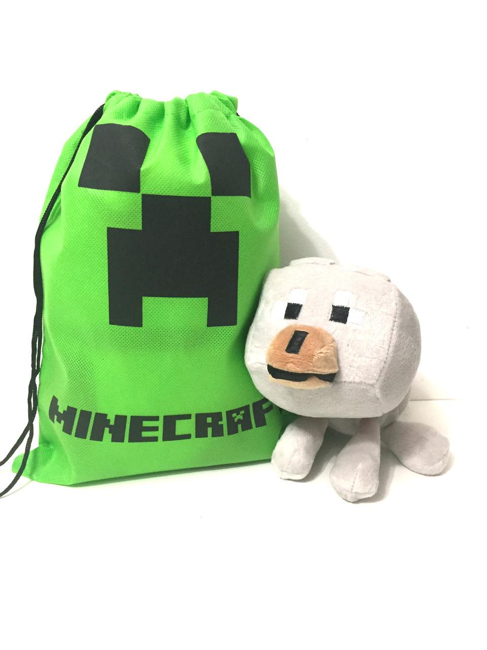 Мягкая игрушка «Minecraft Wolf» - Волк 20 см.