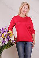 Блуза-туника трикотажная 424-осн822-137 полубатал оптом от производителя Украина