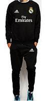 Костюм тренировочный FC Real Madrid (Adidas) черный