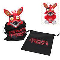 Мягкая игрушка Пять ночей с Фредди Springtrap Foxy Аниматроник Фокси 20 см