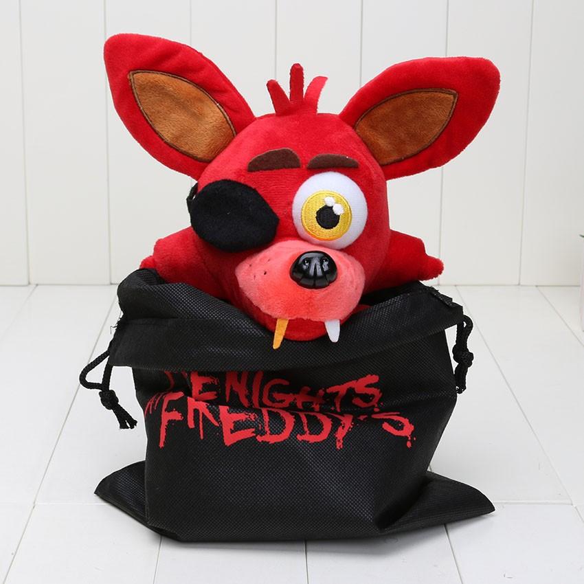 Мягкая игрушка Five Nights at Freddys (Fnaf) - лис Foxy 25 см.