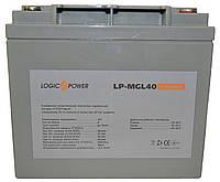 Аккумулятор мультигелевый Logicpower LP-MG 12V 40AH, (AGM) для ИБП, фото 1