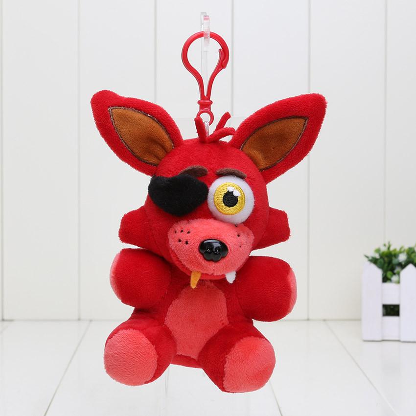 Мягкая игрушка Брелок Five Nights at Freddys (Fnaf) -  лис Foxy 14 см.