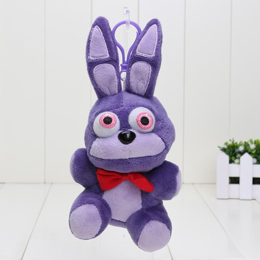 Мягкий Брелок 5 ночей с Фредди (Fnaf) -  кролик Bonnie 14 см.