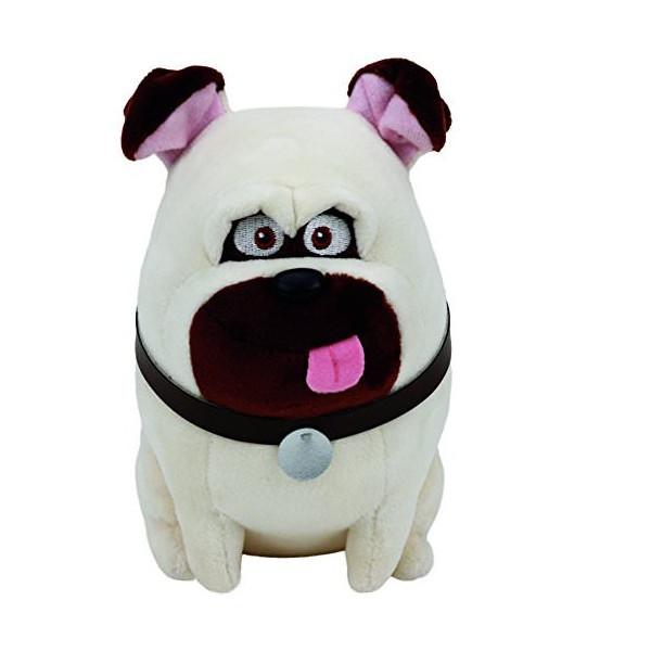 """Мягкая игрушка """"Тайная жизнь домашних животных"""" - бульдог Мэлл 25 см"""