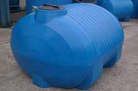 Емкость горизонтальная для транспортировки воды 3000 л