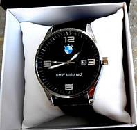 Мужские кварцевые наручные часы BMW. Высокое качество. Деловой стиль. Практичные часы. Купить. Код: КДН2130