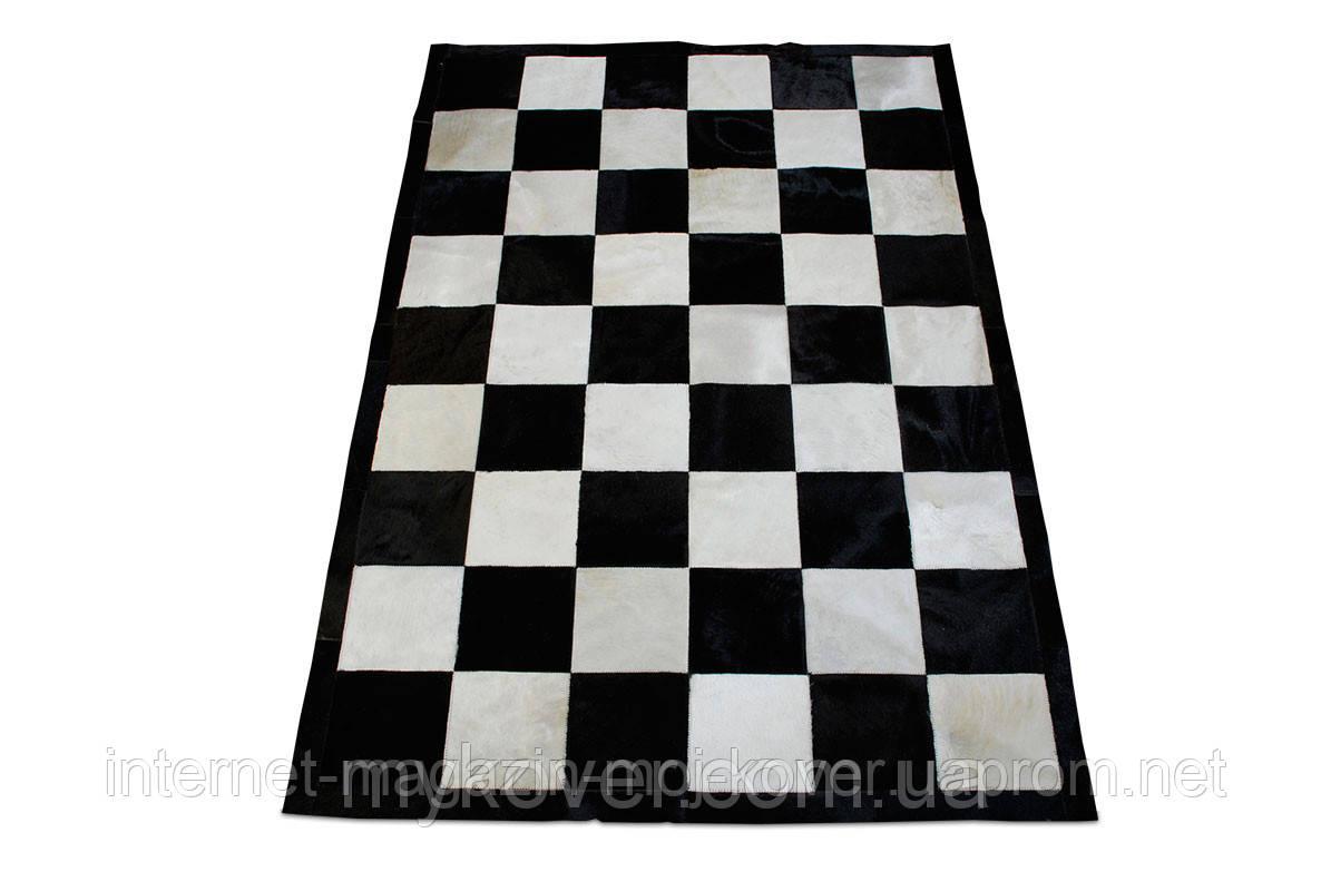 Купити килим шахова дошка, килим чорно біла клітка в Дніпропетровську