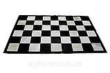Купити килим шахова дошка, килим чорно біла клітка в Дніпропетровську, фото 3