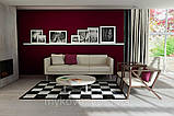Купити килим шахова дошка, килим чорно біла клітка в Дніпропетровську, фото 5
