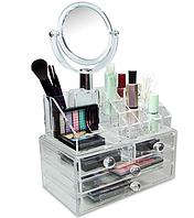 Органайзер для косметики с зеркалом, фото 1