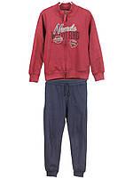 Детский теплый спортивный костюм (кофта, брюки) для мальчика 2, 3 года, LOSAN, Испания