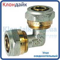 Угол для металлопластиковой трубы переходной 16*20