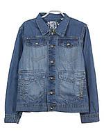 Куртка джинсовая для мальчика 8-16 лет