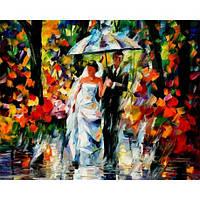 Картина по номерам Свадьба под дождем 40х50см от бренда Babylon