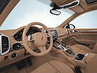 """Пакет отделки салона натуральным деревом с текстурой """"Olive"""" для Porsche Cayenne E2"""