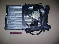 Радиатор водяного  охлаждения  ВАЗ 21150-130001000  САМАРА  с эл .вентилятором в сборе производство  ВИС