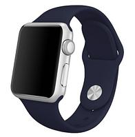 Ремешок силиконовый для Apple Watch 42mm. Midnight blue