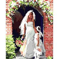 Картина по номерам Свадебный ангел 40х50см от бренда Babylon