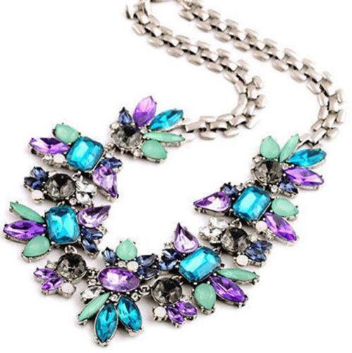 Ожерелье с искусственными камнями Undine