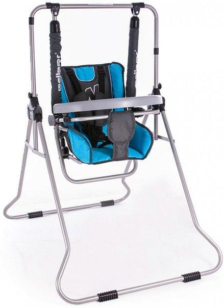 Качель Adbor N1 (со столиком) голубой-графит