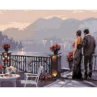 Картина по номерам Романтический ужин 40х50см от бренда Babylon