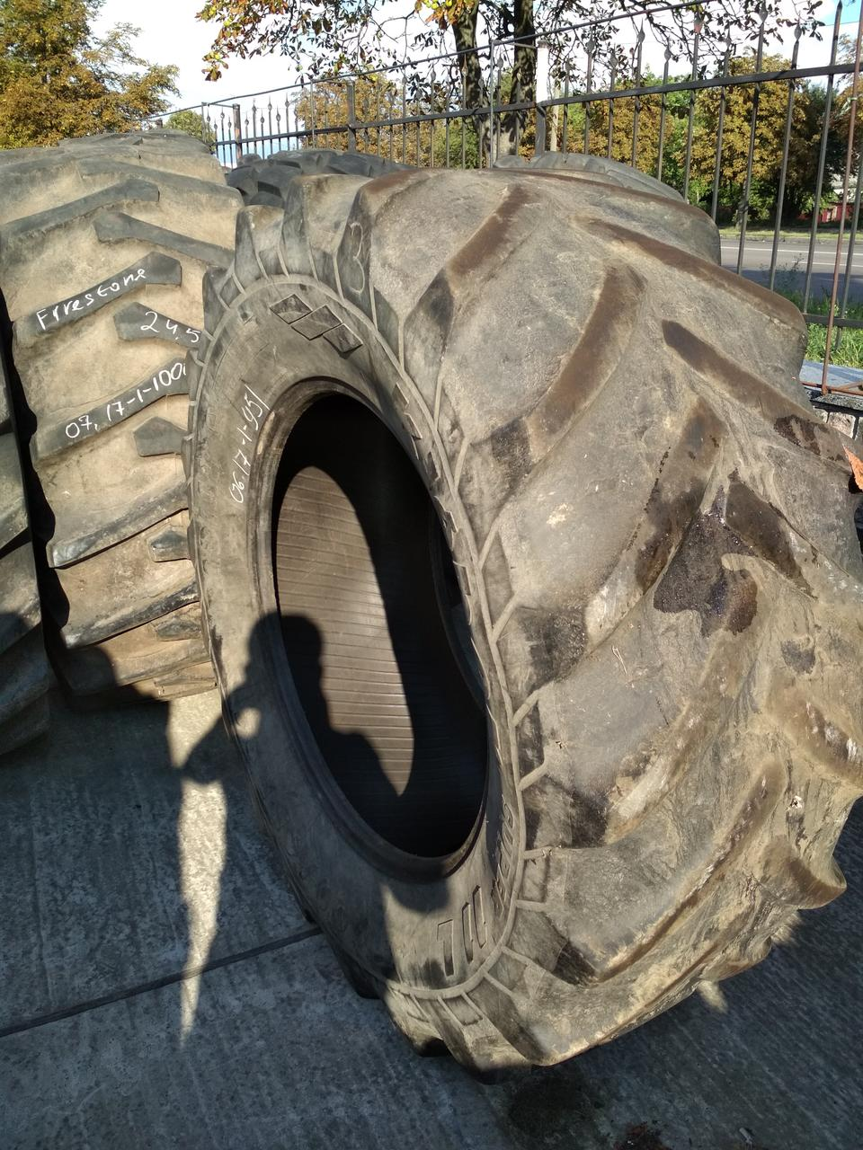 Шини б/у 600/65R34 Kleber для тракторів CASE IH, NEW HOLLAND, FENDT