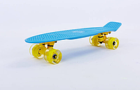 PENNY BOARD LED  FISH 22in (СИНИЙ) СО СВЕТЯЩИМИСЯ КОЛЕСАМИ, фото 1