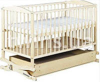 Кроватка-колыбель Klups Radek II с ящиком white