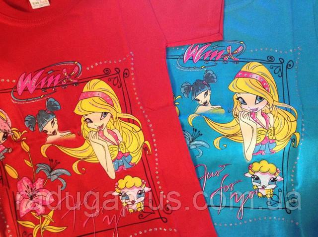 футболка на девочку winx